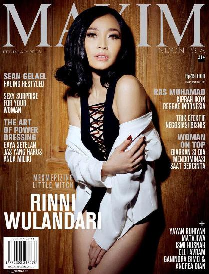 Download Majalah MAXIM Indonesia Edisi Februari 2016 Rinni Wulandari, Mesmerizing Little Witch | www.insight-zone.com
