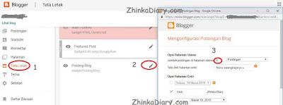 Cara Mengatur Jumlah Postingan di Beranda Blog
