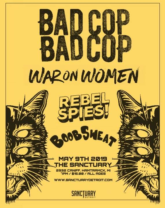 Hip In Detroit: Win Tickets to See Bad Cop / Bad Cop at The