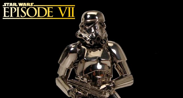 Star Wars Episodio VI Stormtrooper Cromado