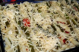 Πένες με σπαράγγια/ Penne with asparagus
