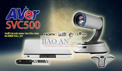 Giải pháp hội nghị truyền hình AVer SVC500