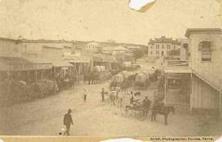 old west texas town photo
