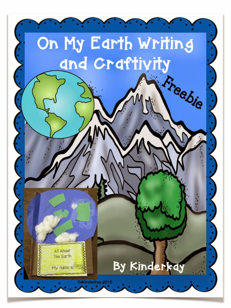 https://www.teacherspayteachers.com/Product/On-My-Earth-Writing-and-Craftivity-FREEBIE-1707384