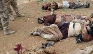 مقتل 10 عناصر من داعش  جنوب غرب صحراء نينوى