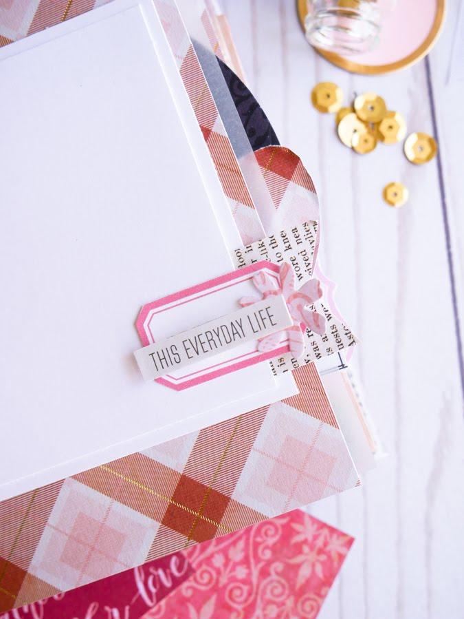 For the Love of a Mini Album. Crafted with Park Lane Prairie Primrose from @joannstores by Jamie Pate | @jamiepate