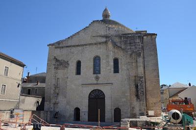 Perigueux. Església de la Cité
