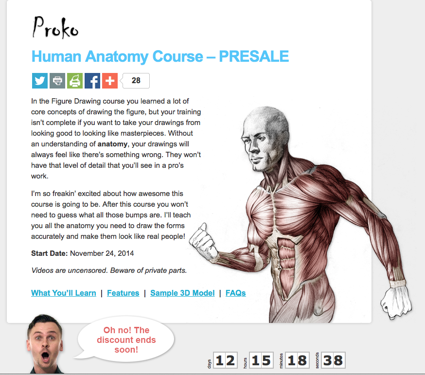 Kreated By Krause Stan Prokopenko Human Anatomy Course Pre Sale