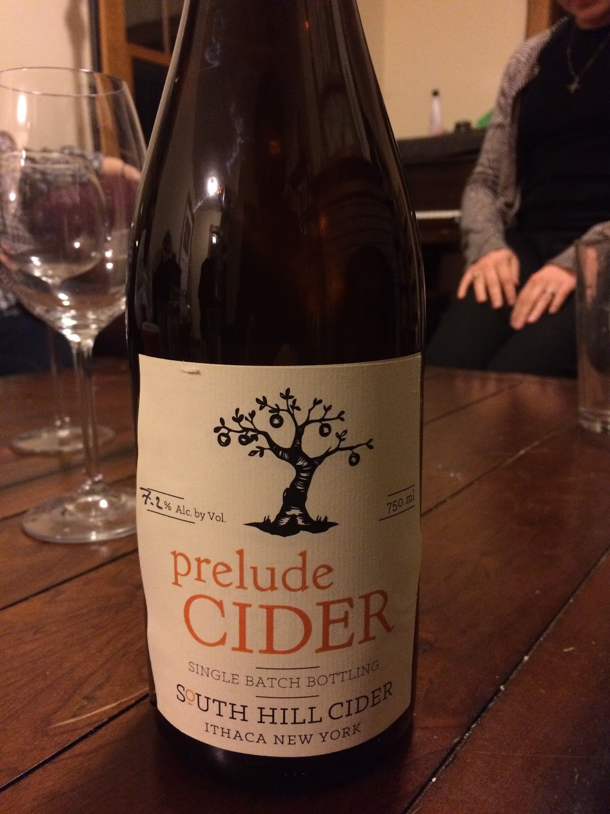 Along Came A Cider Review South Hill S Prelude 3 Sharpie Wine Gles