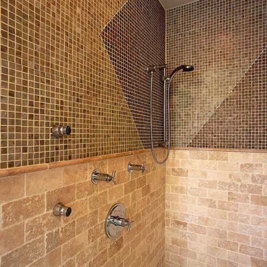 Bathroom Tile Design: Art Wall Decor: Bathroom Wall Tiles Ideas