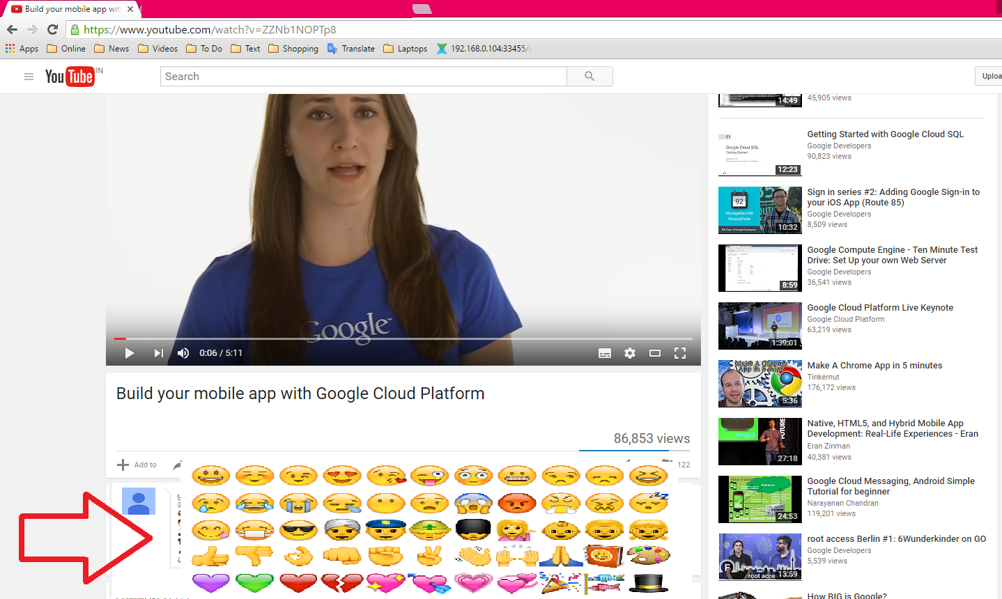 Learn New Things: How to Insert Emoji for Youtube Comments