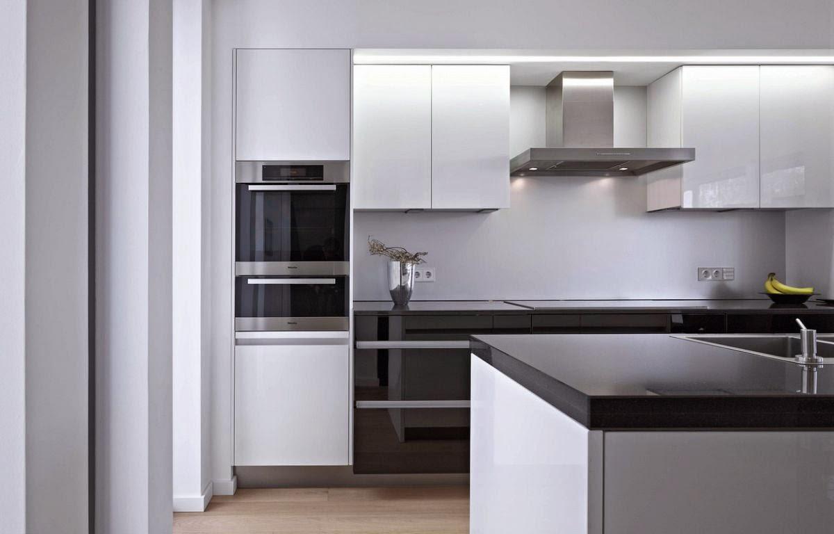 Kitchen Cabinets Modern Bridal Shower Invitations Sinfonía De Blancos Y Negros - Cocinas Con Estilo
