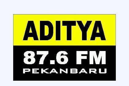 Lowongan Kerja Radio Aditya 87.6 FM Pekanbaru Desember 2018