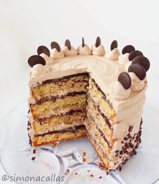 Tort cu banane ciocolata si Nutella 5