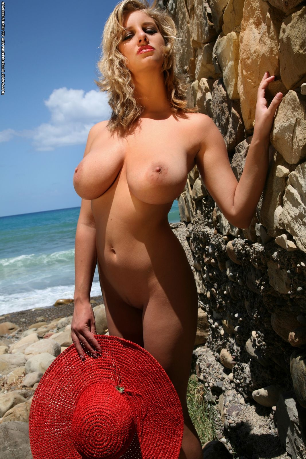 Nude Boobs On The Beach