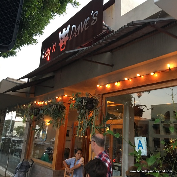 exterior of kayndaves in Pacific Palisades, California