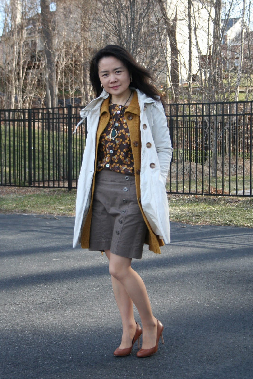 afefbab7c361 Vicky s Daily Fashion Blog  OOTD  Spring layering