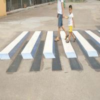 Índia pretende usar pinturas 3D como sinalização para evitar acidentes