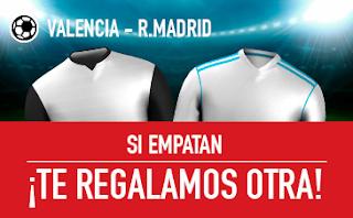 sportium promocion Valencia vs Real Madrid 27 enero