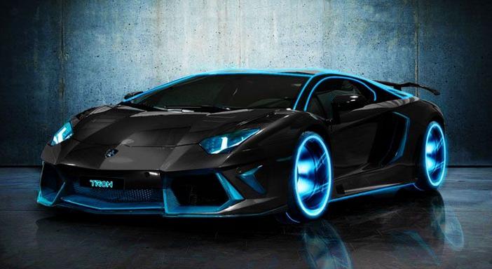 The Next Lamborghini Hypercar Will Glow In The Dark