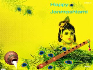 Lord Krishna Janmashtami Whatsapp DP