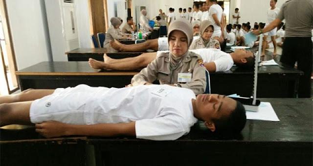 Pendaftar Calon Anggota Polri di Polres Padangpariaman Membludak