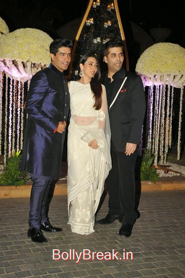 Celebrities Pics At Riddhi Malhotra Wedding Reception, Karishma Kapoor, Urmila Matondkar, Kriti Sanon, Sophie Choudry At Riddhi Malhotra Wedding Reception