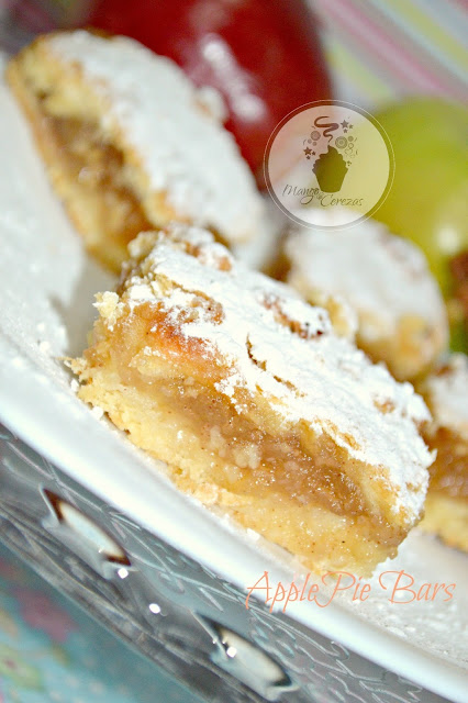 Apple Pie Bars, Barras de Manzanas