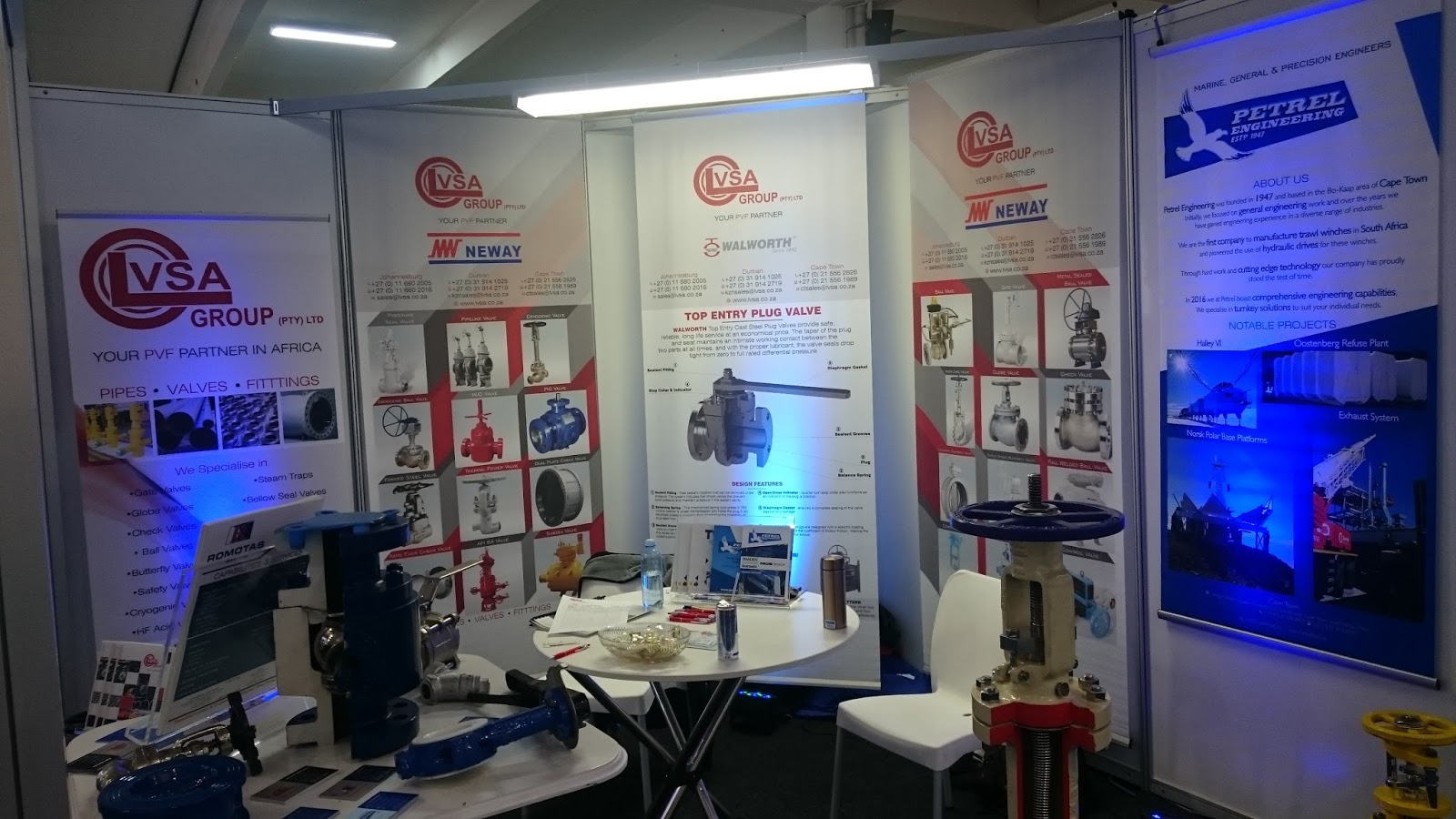 INDUTEC 2017 - Event- Petrel Engineering-Cape Town,South Africa