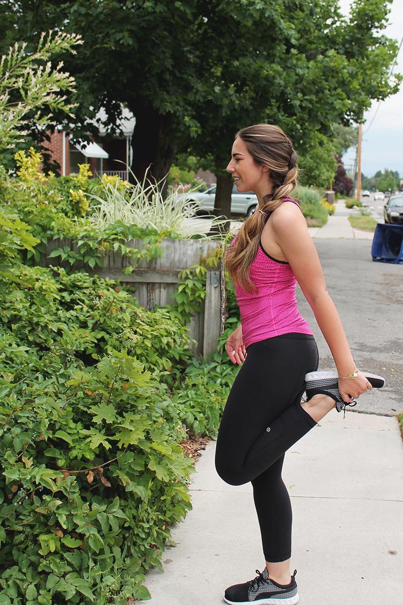 pink nike workout shirt, fashion blogger, utah blogger