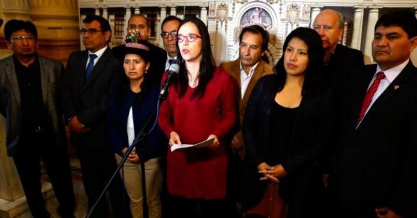 Si la Ministra de Educación no puede resolver huelga docente que renuncie, sostienen congresistas del bloque Nuevo Perú