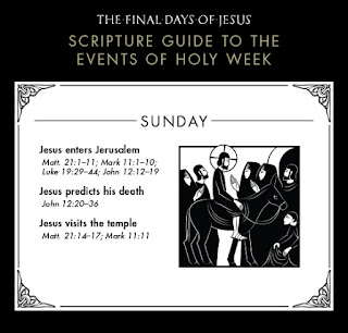 The Final Days of Jesus: Sunday, March 29, AD 33 (crossway.org)