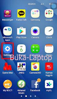 Cari Menu Pengaturan Android