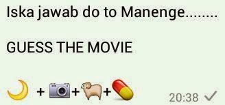 Iska Jawab do to Manenge Guess the movie