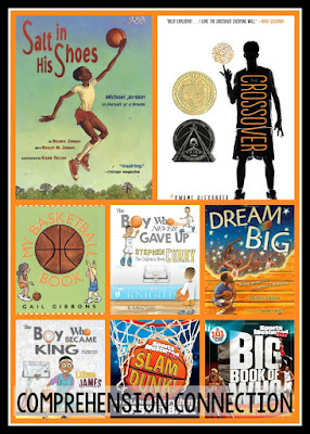 Let's celebrate March Madness with these fun basketball themed books and activities. Check out this post for teaching ideas and resources.
