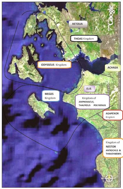 Mycenaean kingdoms of western Greece