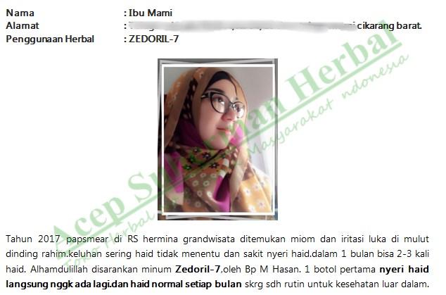 Testimoni Walatra Zedoril 7