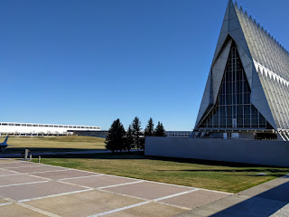Air Force Academy Cadet Chapel, Colorado Springs, Colorado