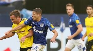 بوروسيا دورتموند يتعثر بالتعادل السلبي امام فريق شالكه بدون اهداف  في الجولة التاسعه من الدوري الالماني