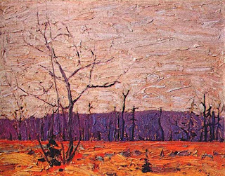 Tom Thomson painting - Sombre Day