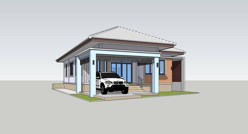 Modern homes are known for their simplicity of design, clean and clear forms, and minimal color palette.  These houses are comfortable and in tune, with the time we live in. Modern homes can be also in small forms for those who are looking for ideal and practical designs.   Today we will share you 13 sensational modern house designs that will leave you with plenty of ideas.