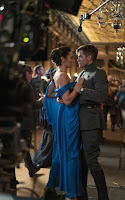 Gal Gadot and Chris Pine on the set of Wonder Woman (2017) (27)