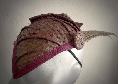 da08d1c208 Fresh Fish Leather Hats! | Sculptural Headwear for Earthlings by ...