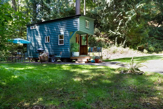 The Makers Tiny House on Guemes Island