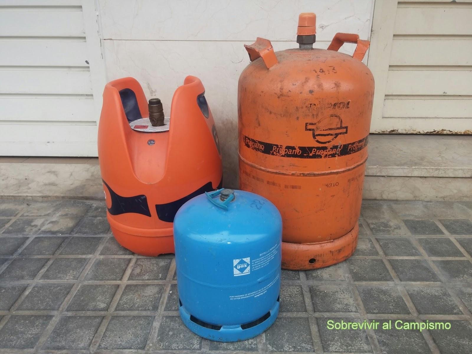 Sobrevivir al campismo  No te quedes sin Gas. Elige una multi-opción 2b069a5025b