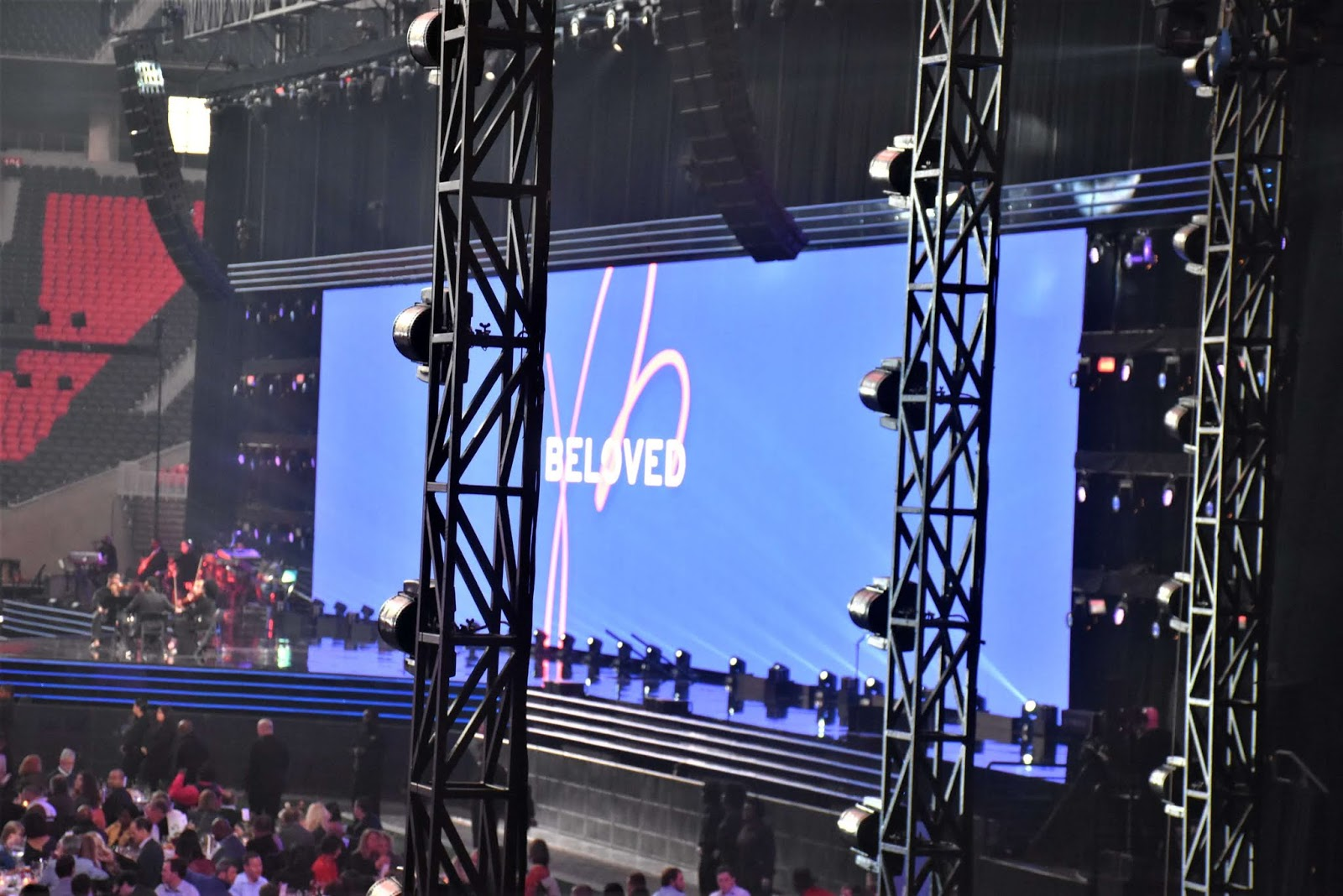 Beloved Benefit at Mercedes Benz Stadium