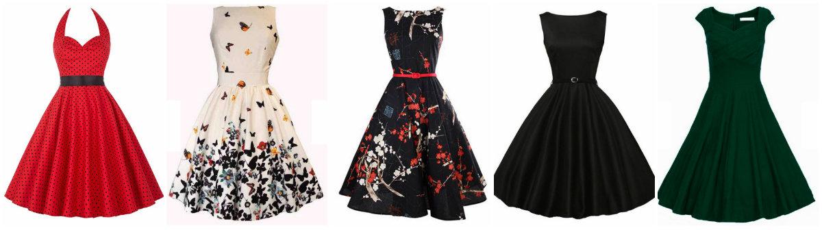 03b61005c32c No site você encontra vestidos retrôs com inspiração nos anos 50... Mas  também recomendo a parte de saias, muitas saias rodadas e com as mais  variadas ...