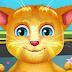 لعبة استحمام القط المتكلم