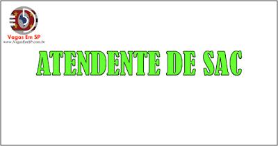 ATENDENTE DE SAC