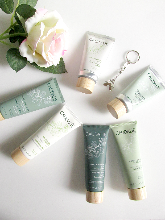 Review: CAUDALIE - Neue Peelings  ( Face Scrubs ) & Kult Masken